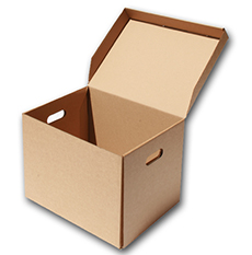 cardboard packaging box in UK