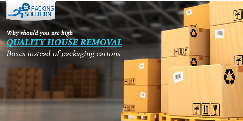 Quality house removal boxes
