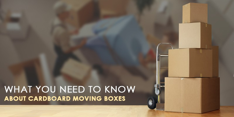 Cardboard boxes for removals