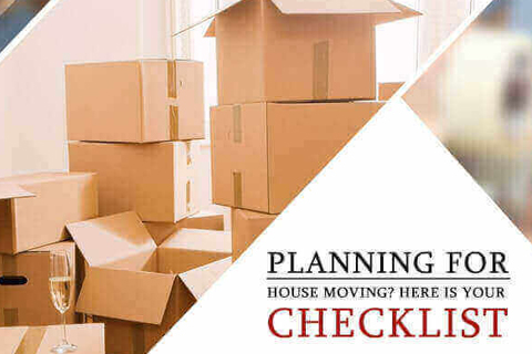 Planning for House Moving