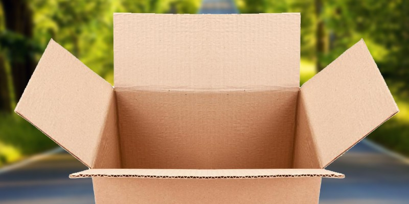 Re usable cardboard boxes