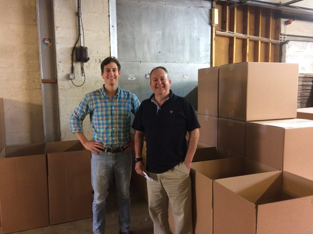 The Packing Solution founders