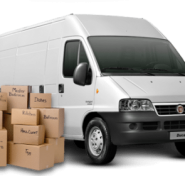 Tips for driving a removal lorry, full of boxes and belongings