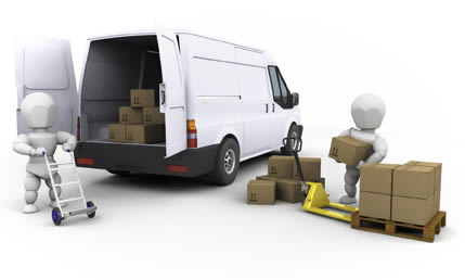 Packing a removal van