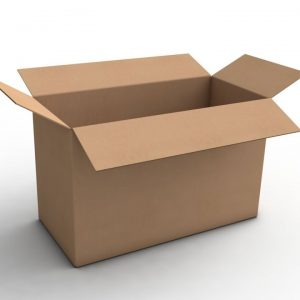 What are the different types of cardboard box?