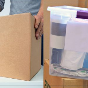 Cardboard Boxes Vs Plastic Boxes: Which Are Better For Moving House?
