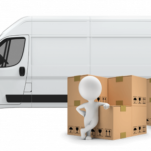 How many boxes fit in a Luton van?